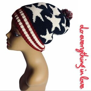 """Do Everything in Love Anthropologie """"Americana"""" Beanie"""